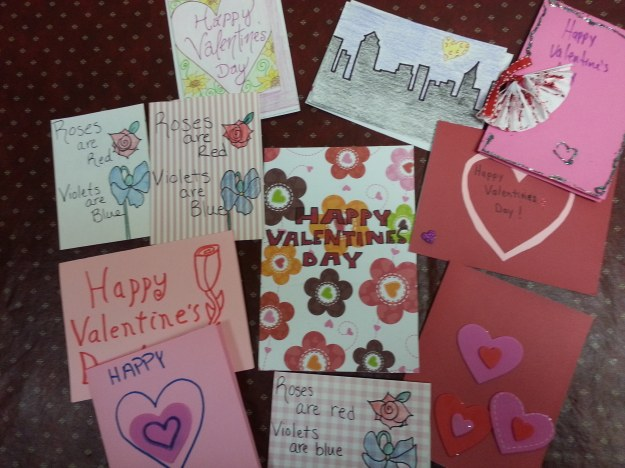 MOW Valentine Cards